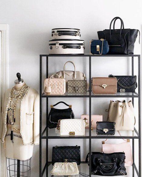Storage For Bags Purse Organization Diy Ideas Display