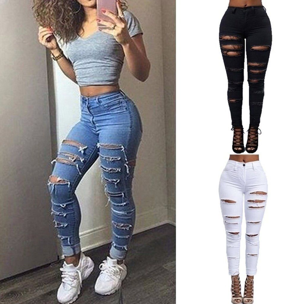 Lockame Rip Tide Jeans Ripped Jeans Style Womens Ripped Jeans Ripped Jeans