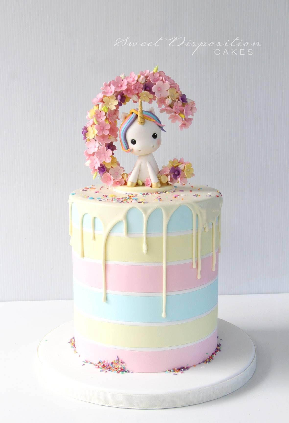 Soooo Cute With Images Unicorn Cake Design Unicorn Birthday