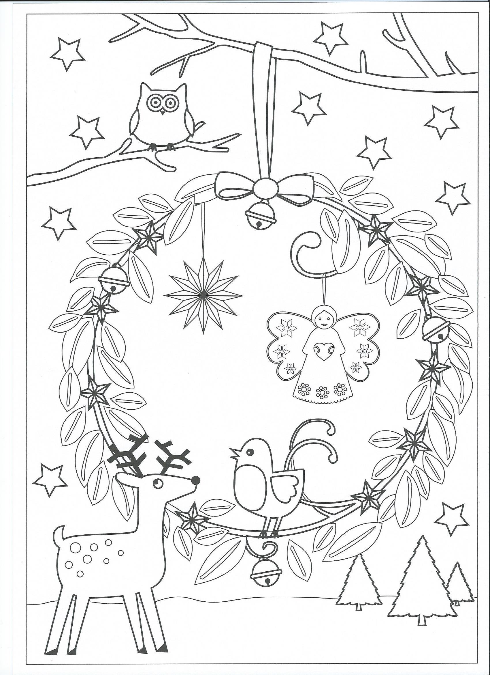 dikkie dik kleurplaat kerst kidkleurplaat nl