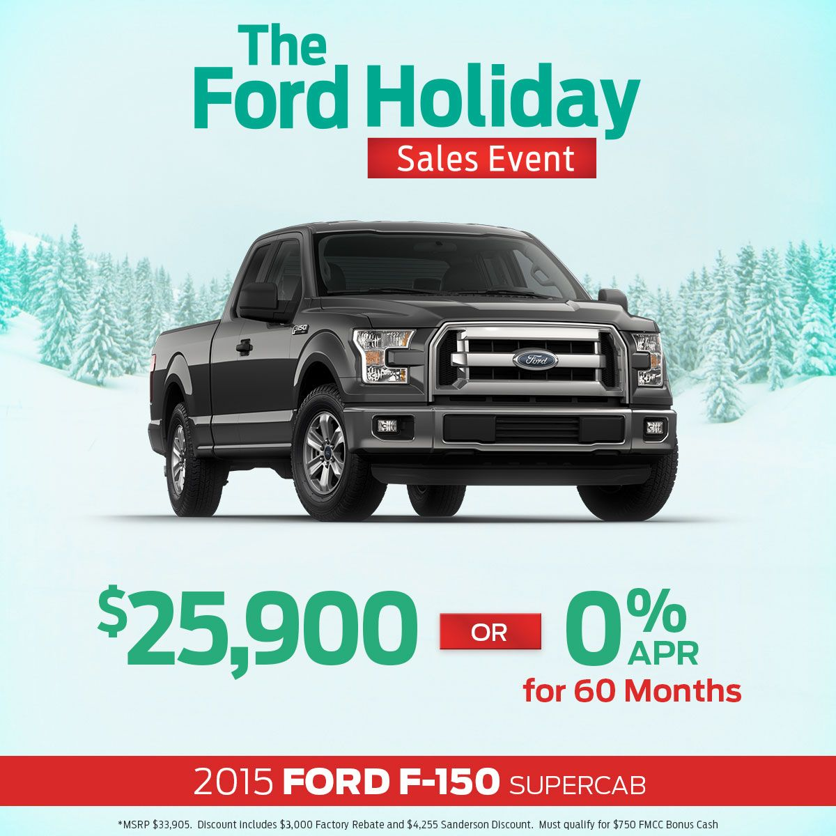 Looking For Great Holiday Deals On New Ford Vehicles Come To