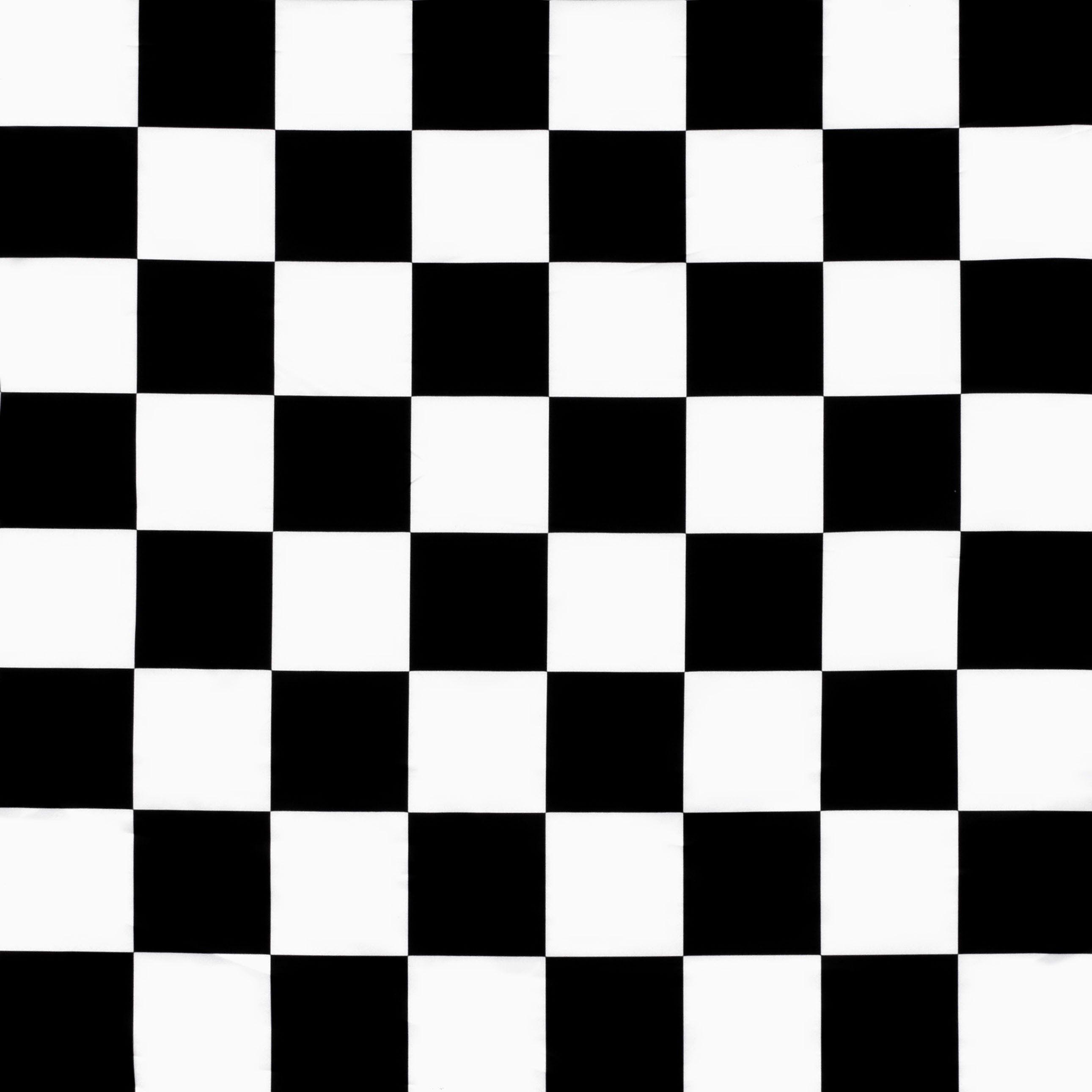 White Black Medium Checker Matte Satin Fabric Chess Board Chess Board Game Chess Pictures of a checker board