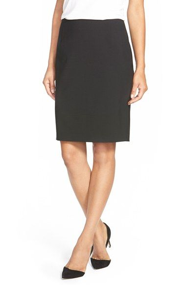 c54a0317e8b72e Elie Tahari 'Bennet' Stretch Wool Pencil Skirt | Outfits to Wear ...