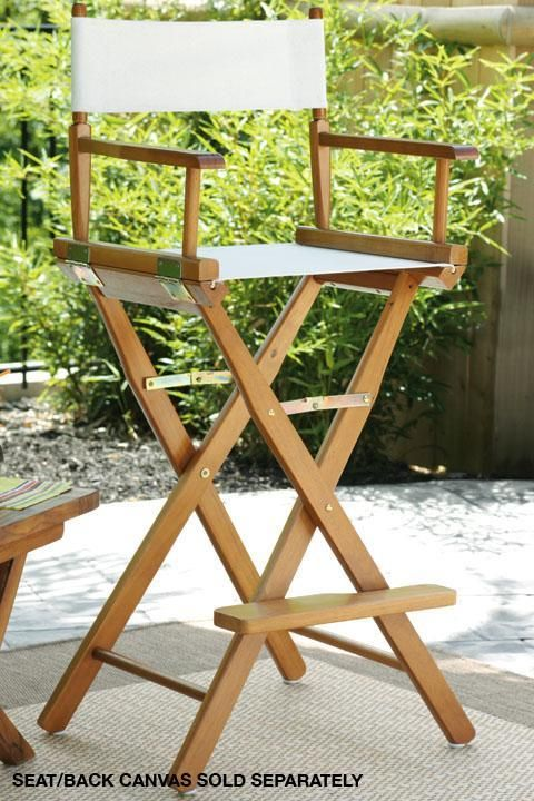Director S Bar Stool Frame I Like That It Is Foldable And Easily Transportable