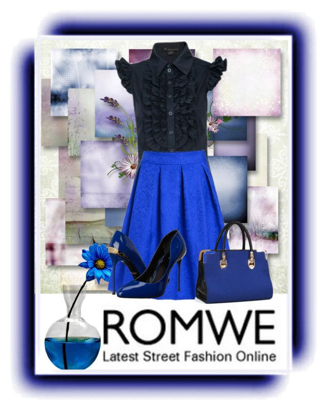"""romwe"" by deskaj ❤ liked on Polyvore featuring Roberto Cavalli"
