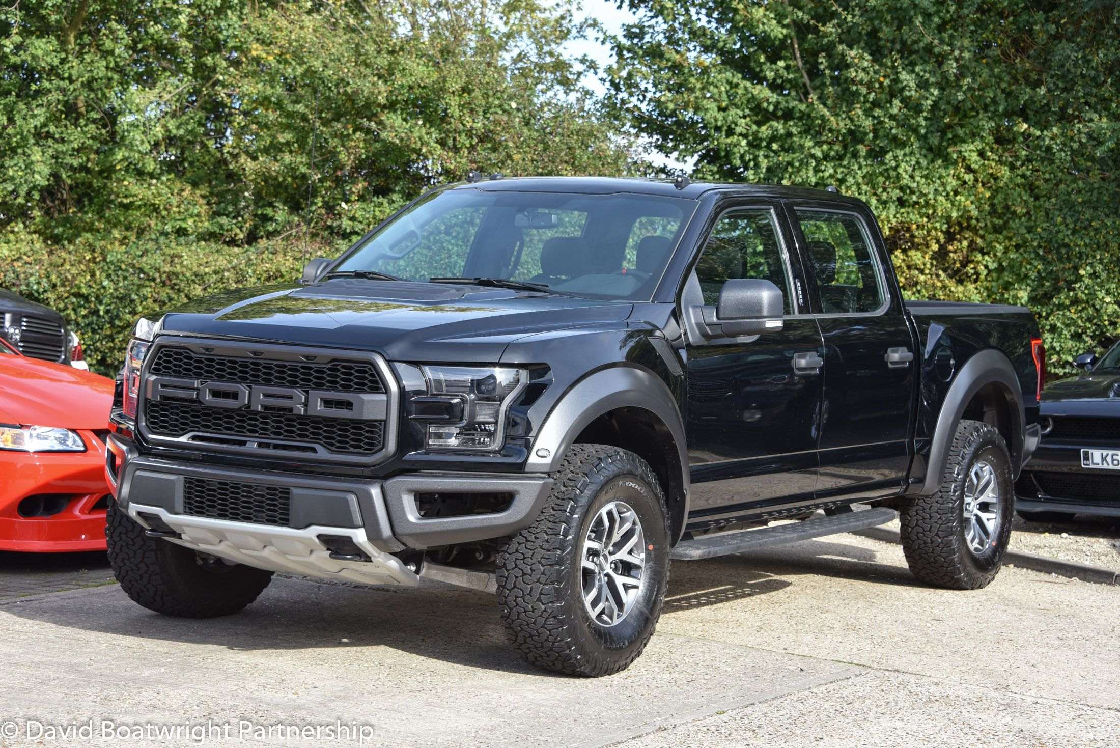 New F150 Raptor Supercrew Www Boatwright Co Uk Raptor Blackraptor Newraptor F150raptor David Boatwright Partners American Pickup Trucks F150 Built Truck