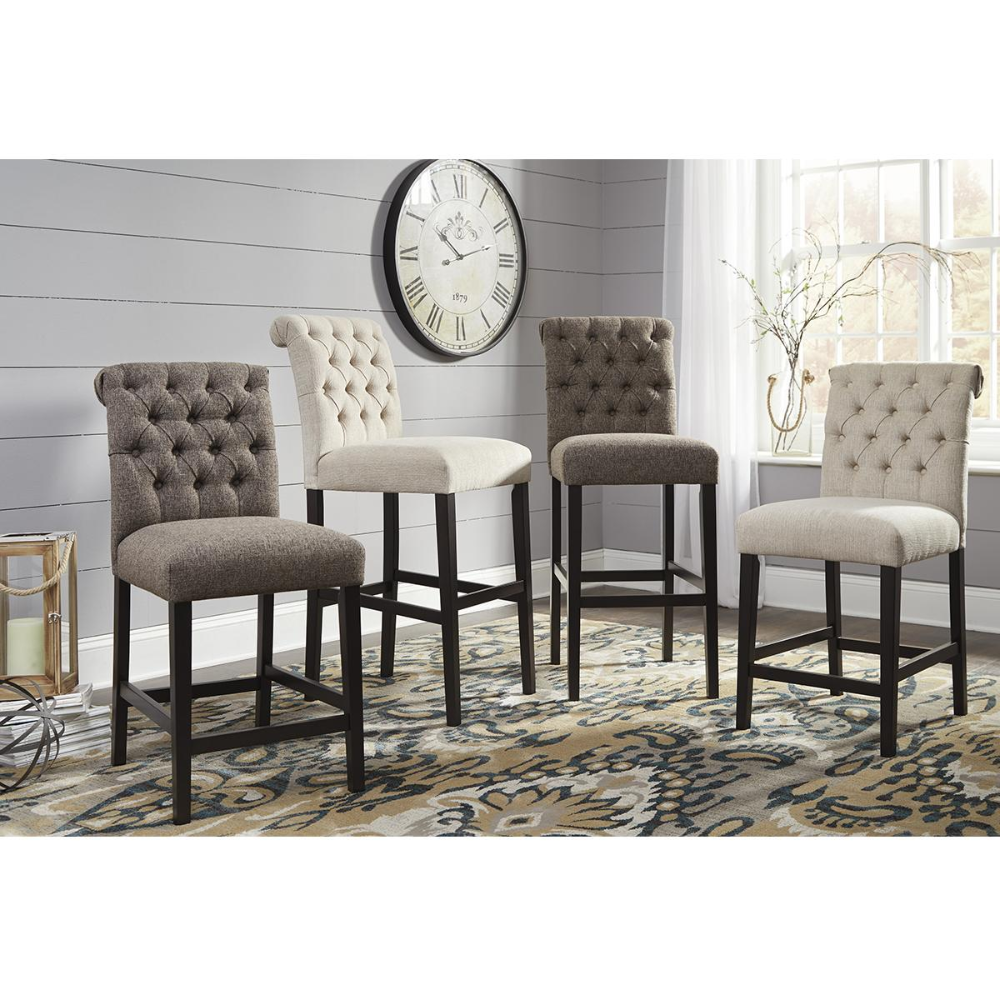 Signature Design By Ashley Tripton Upholstered Counter Stool In