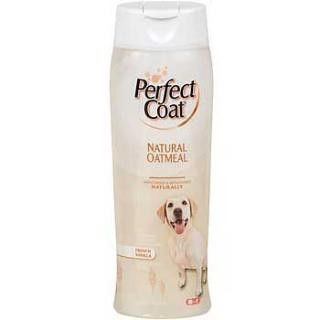 8in1 Perfect Coat Natural Oatmeal Shampoo - French Vanilla 64 Oz