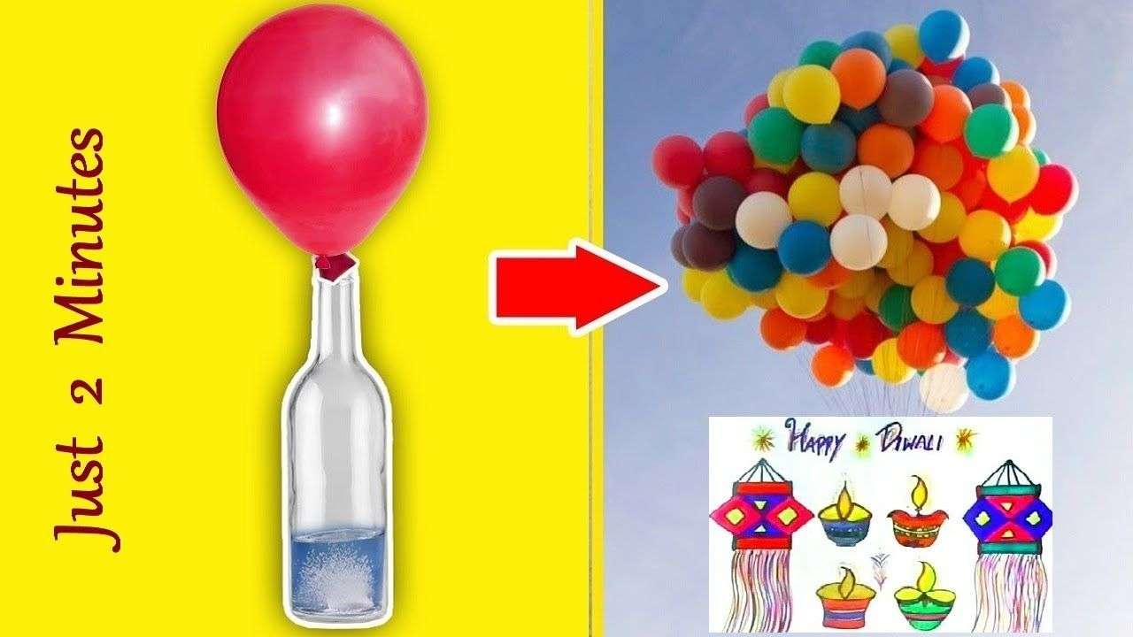 How To Make Flying Balloons At Home Without Helium Inflating Balloon With Caustic Soda Buy Online Youtube Flying Balloon Helium Balloons Balloons