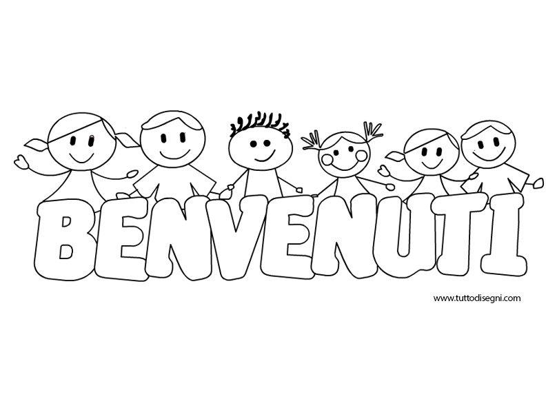 Benvenuti Scuola Scritta Faaliyet Pinterest Welcome To School