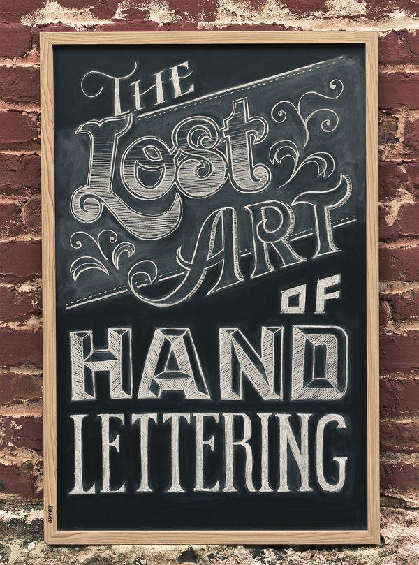 lost art design - sketch - presentations Pinterest Tipografía - paredes con letras