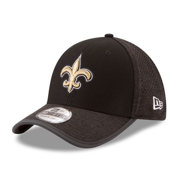 New Orleans Saints New Era 2017 Training Camp Official 39THIRTY Flex Hat - Black - $33.99