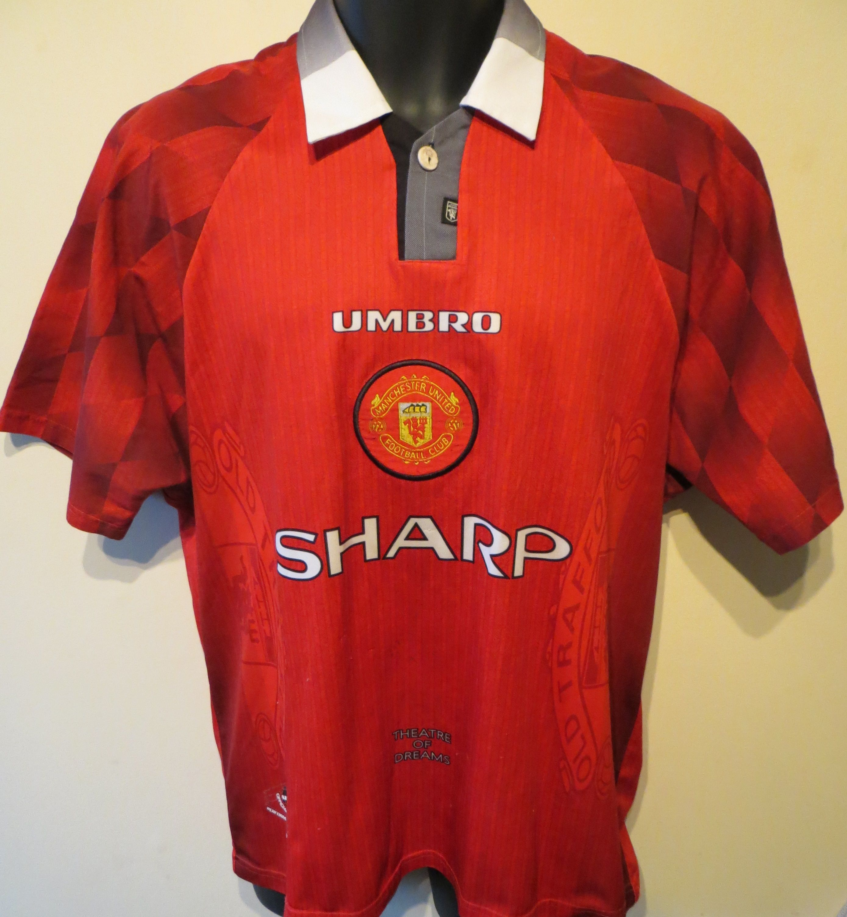 56921d244 Manchester United  Theatre of Dreams  jersey by Umbro