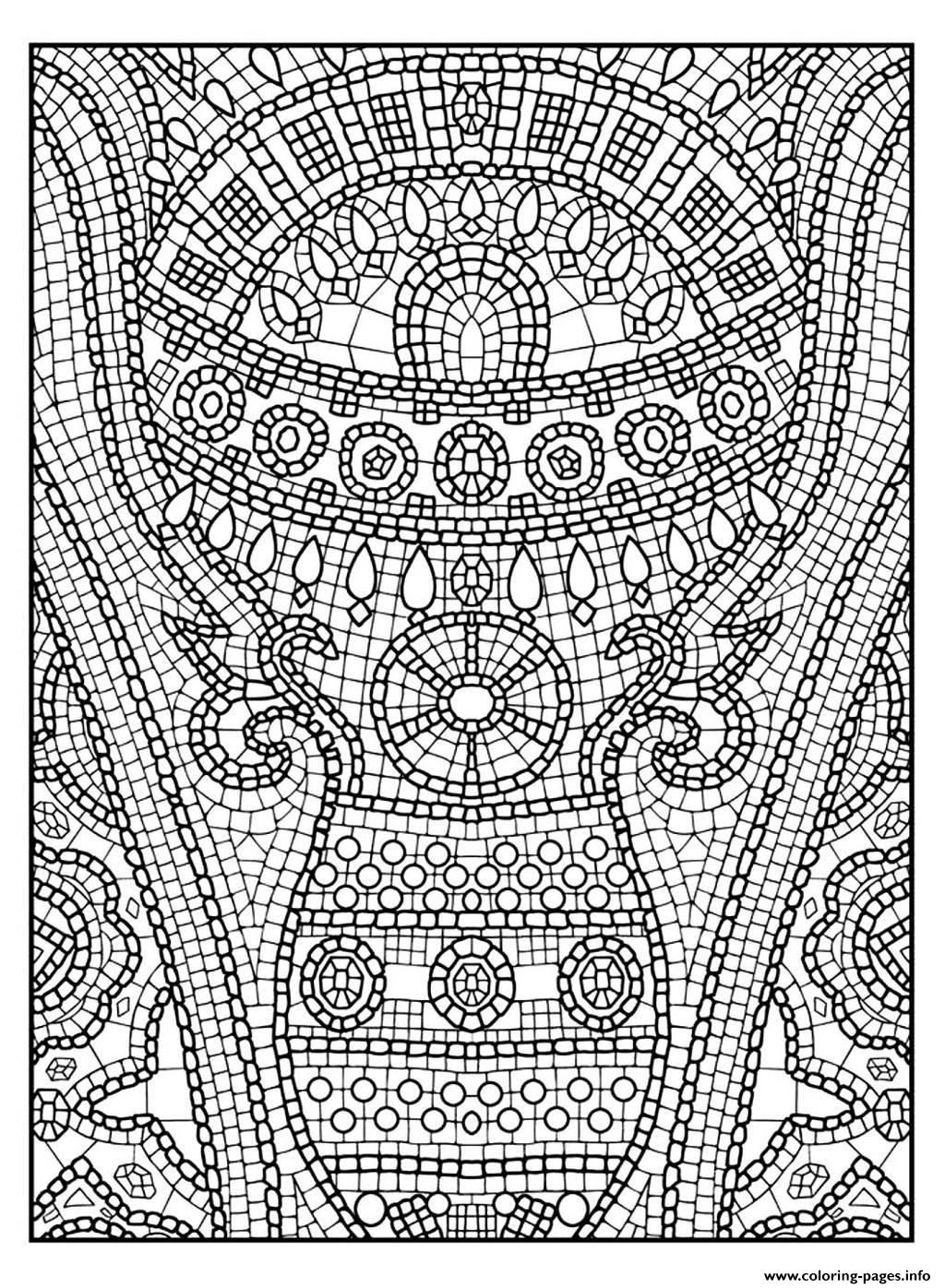 Print Adult Zen Anti Stress To Print 11 Coloring Pages