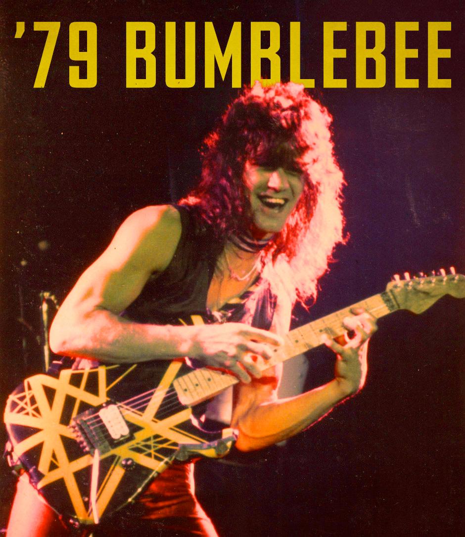 Evh Commemorates 40th Anniversary Of Van Halen Ii With 79 Bumblebee Tribute Guitar Vanhalen Eddievanhalen Music Guitar Van Halen Eddie Van Halen Halen