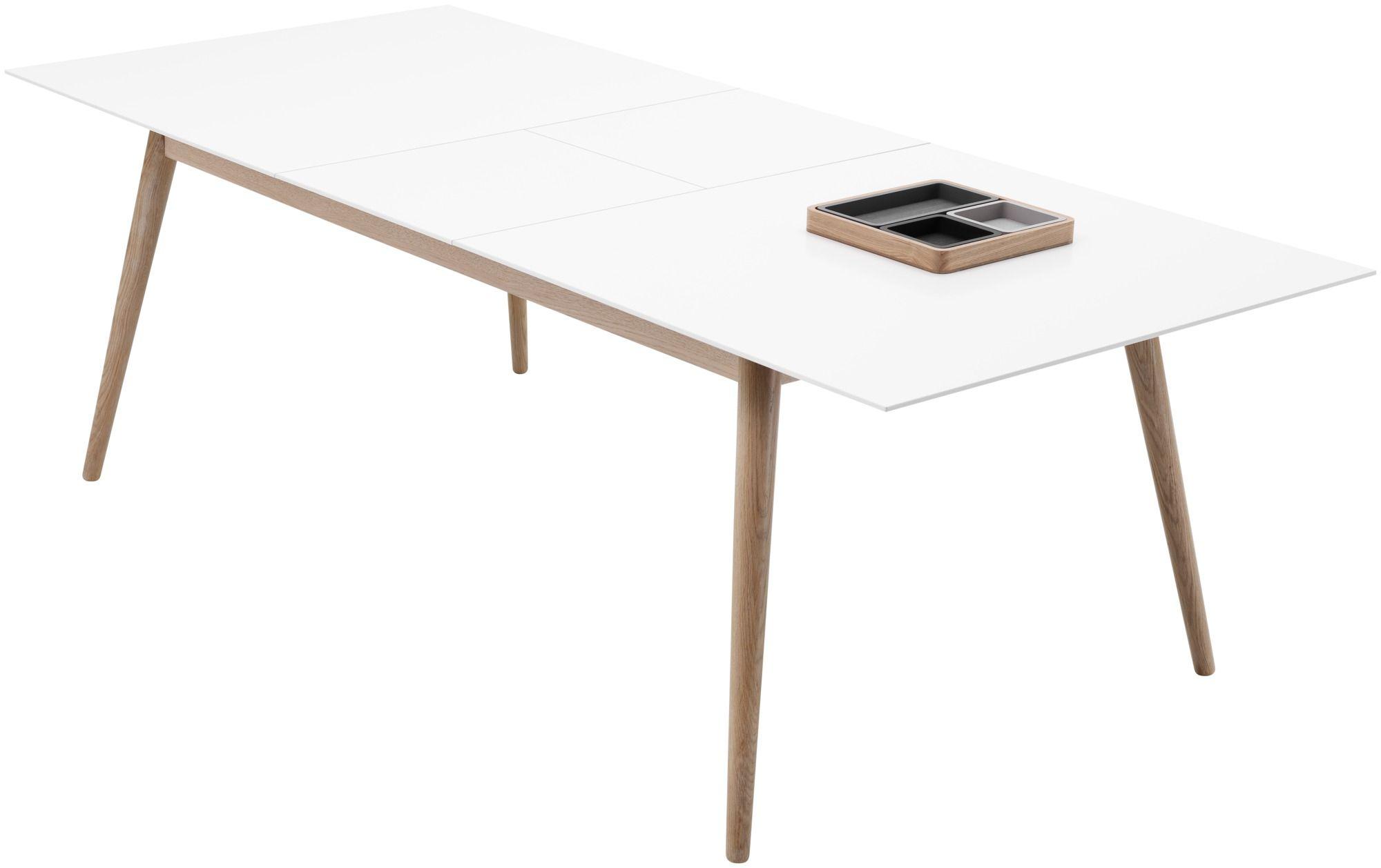 Milano Tisch Mit Zusatztischplatte Spisebord Boconcept Stuebord