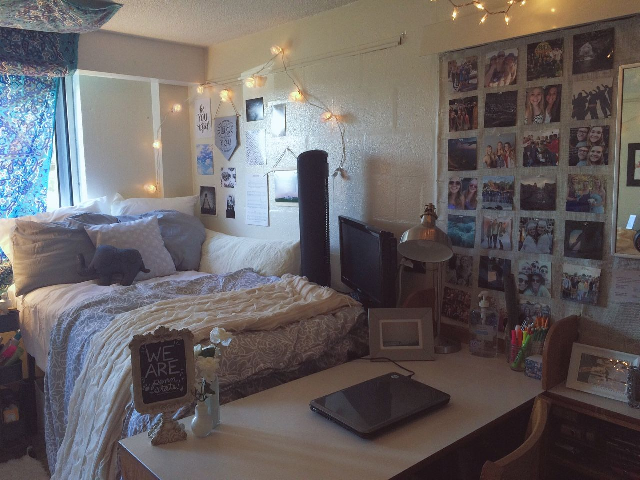 Fuck yeah cool dorm rooms penn state university for Cool college bedrooms
