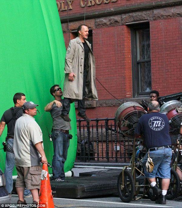 """Behind the scenes of """"Birdman""""."""
