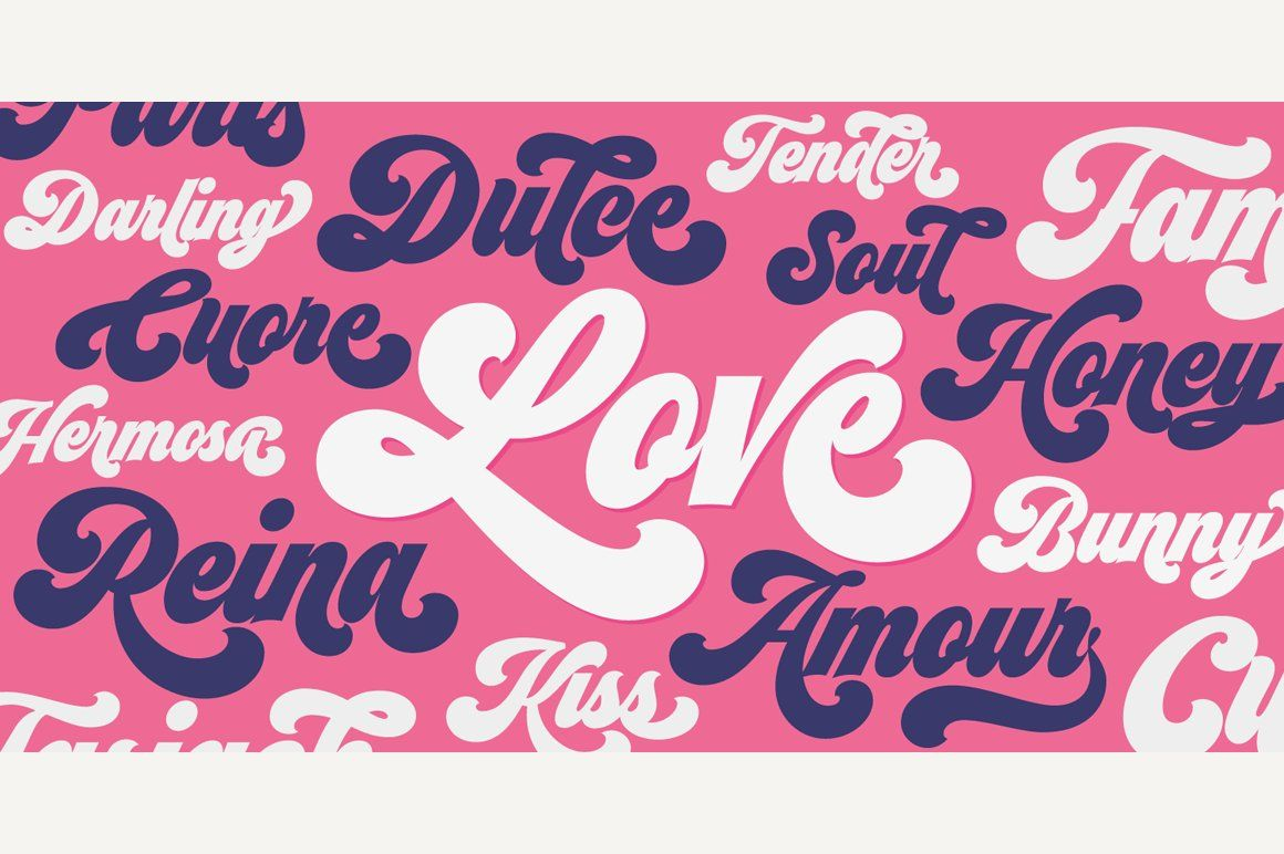 Download Seventies (complete pack) (With images)   Free fonts ...