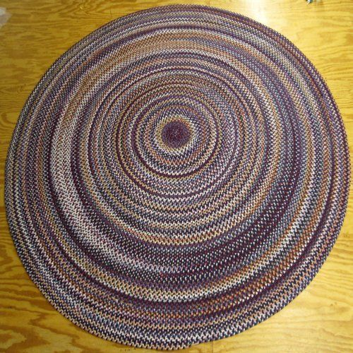 Itm Beacon Hill Multicolor Indoor Outdoor Reversible Braided Rug 8 Feet Round By