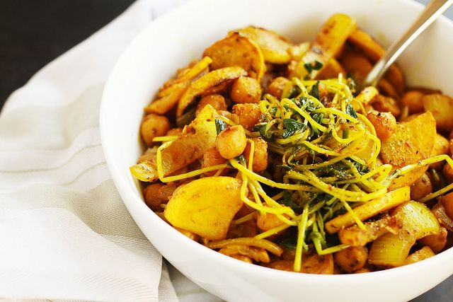 spiced veggies with millet by Stacy Spensley, via Flickr