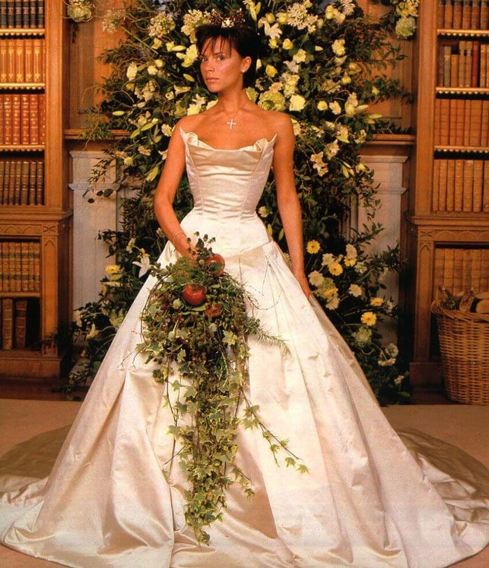 Victoria Beckham Posh E Wedding Dress