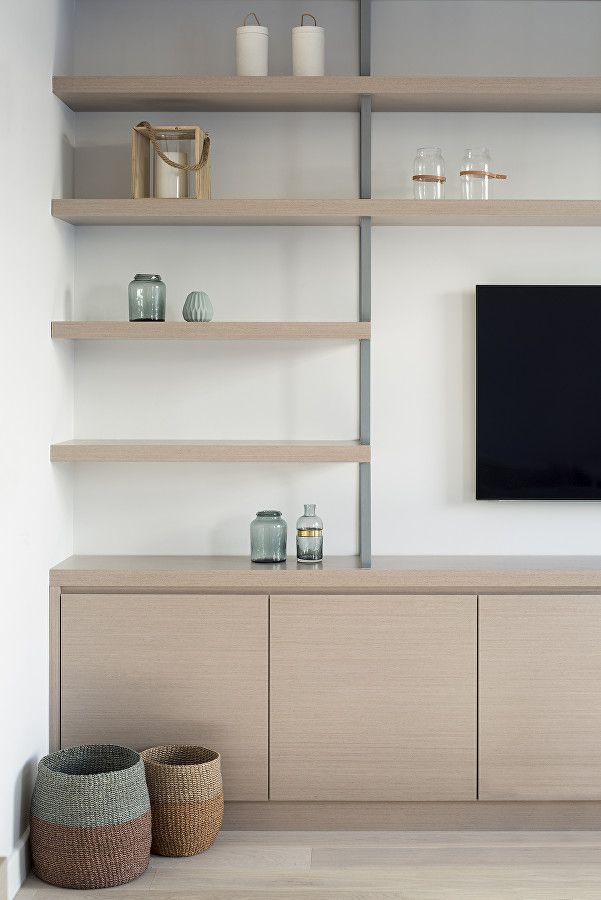 Harcourt Road by Ardesia Design. Bespoke TV joinery and concrete ...