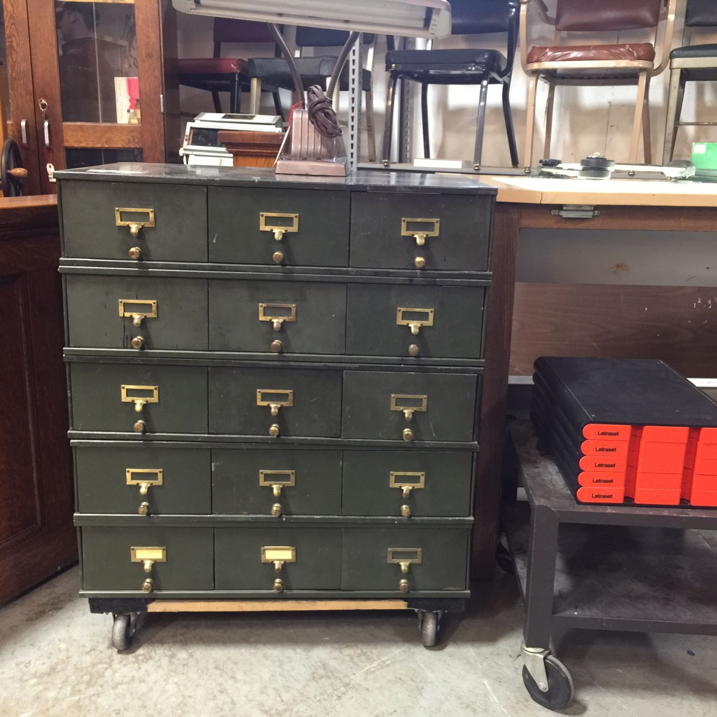 We have a stack of Safe Cabinet Company drawers available. Each ...