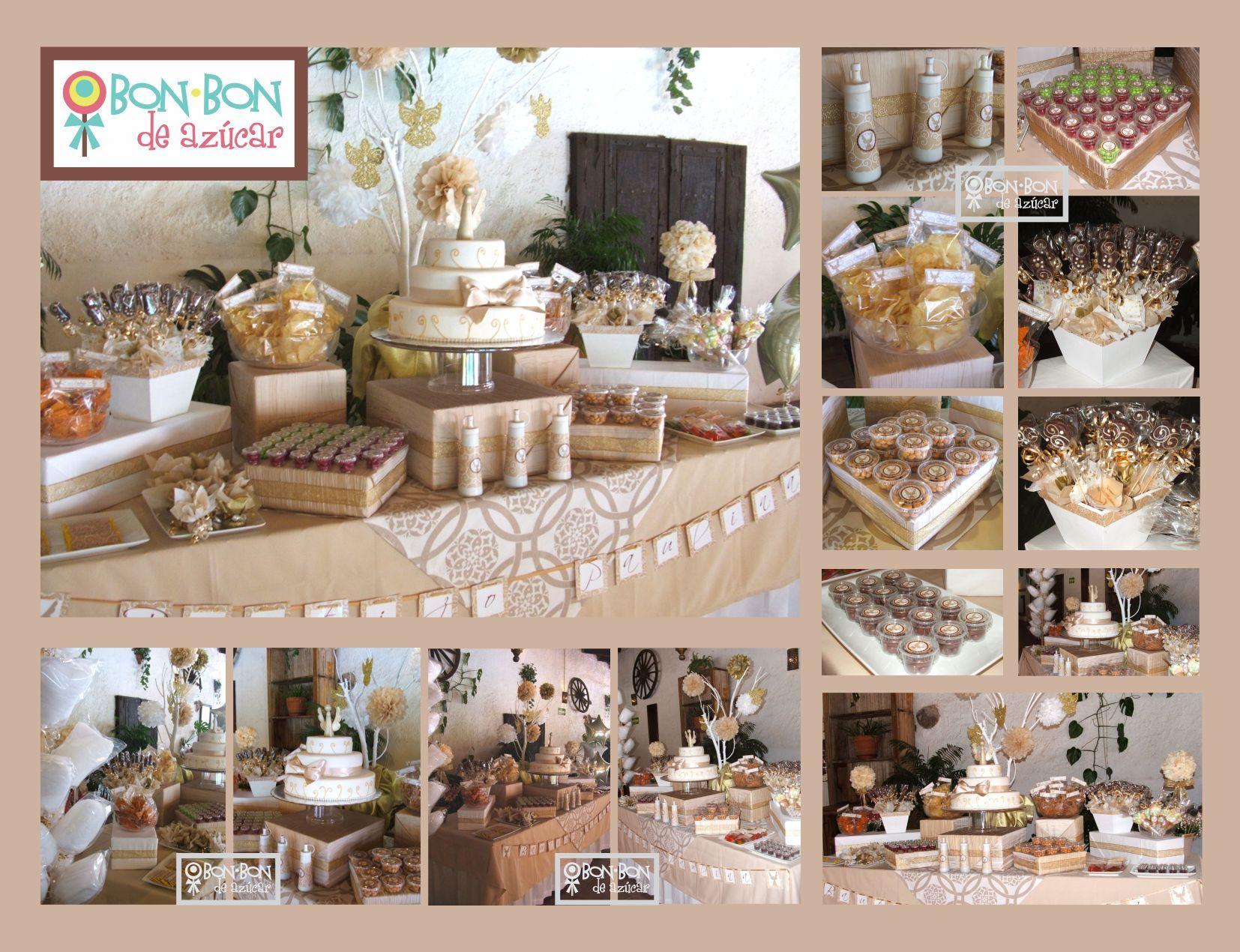 Mesa de dulces para Boda - ᐅ Las más Elegantes Mesas de