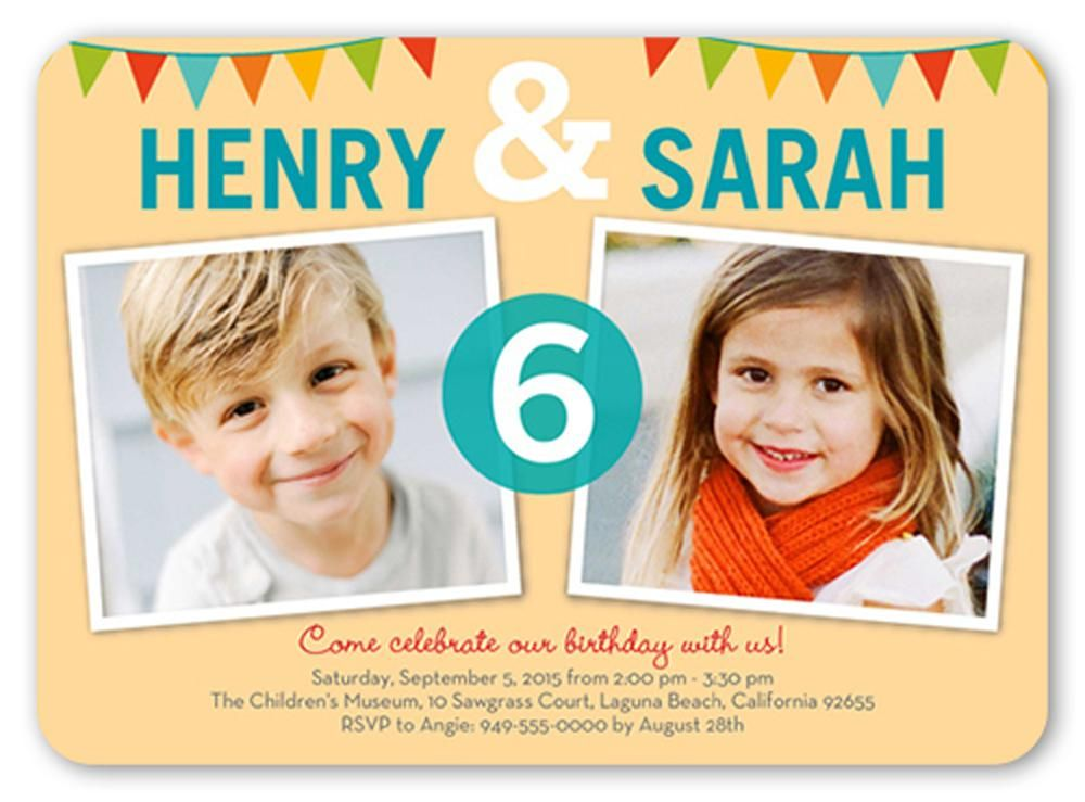How To Create Your Own Birthday Invitation For Kids Custom