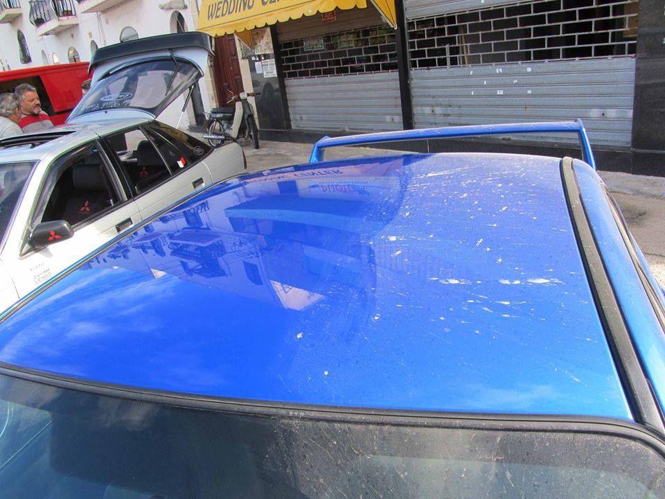 Life before and After Nano Waterless car wash, Hot tub