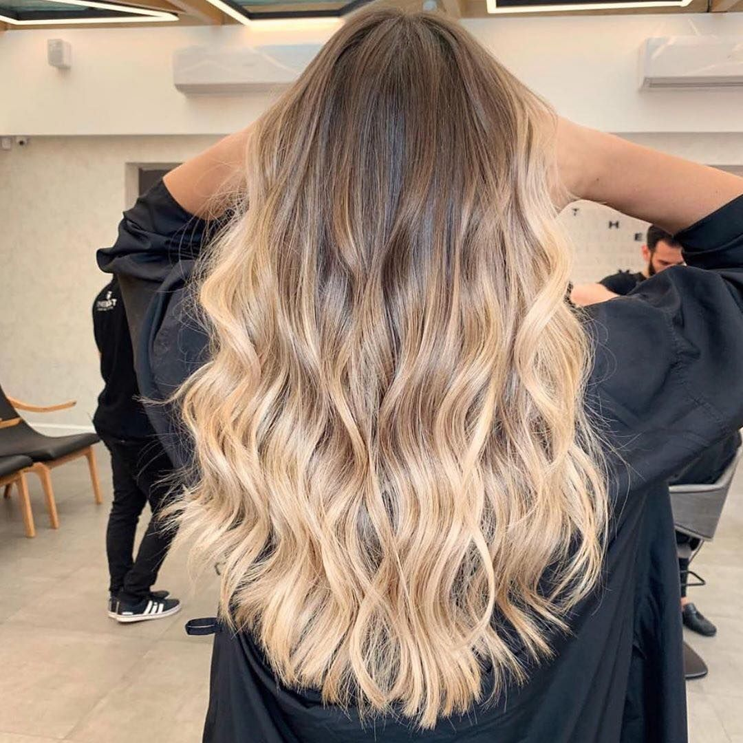 Everything Balayage On Instagram Gradient Blonde By