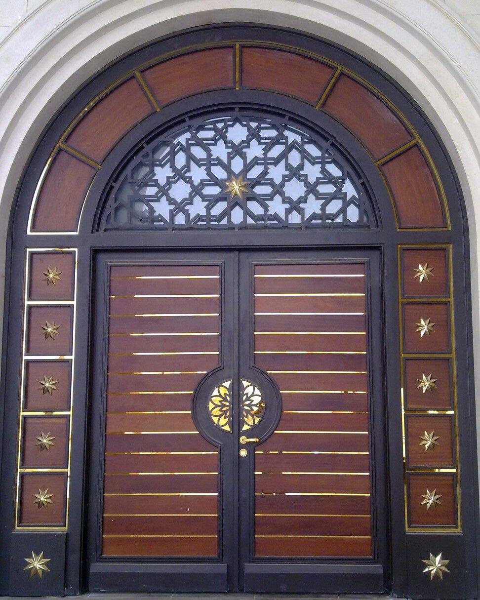 باب خارجي Grill Gate Entrance Doors Fountains Outdoor