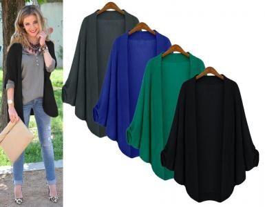 Modny Kardigan Narzutka Oversize Jesien Hit P864 5589465810 Oficjalne Archiwum Allegro Academic Dress Fashion Dresses