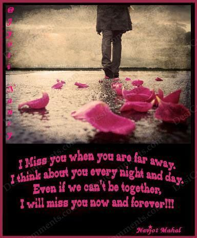 I Miss You When You Are Far Away Love Quotes Quotes Miss You Sad Cool Far Away Love Quotes
