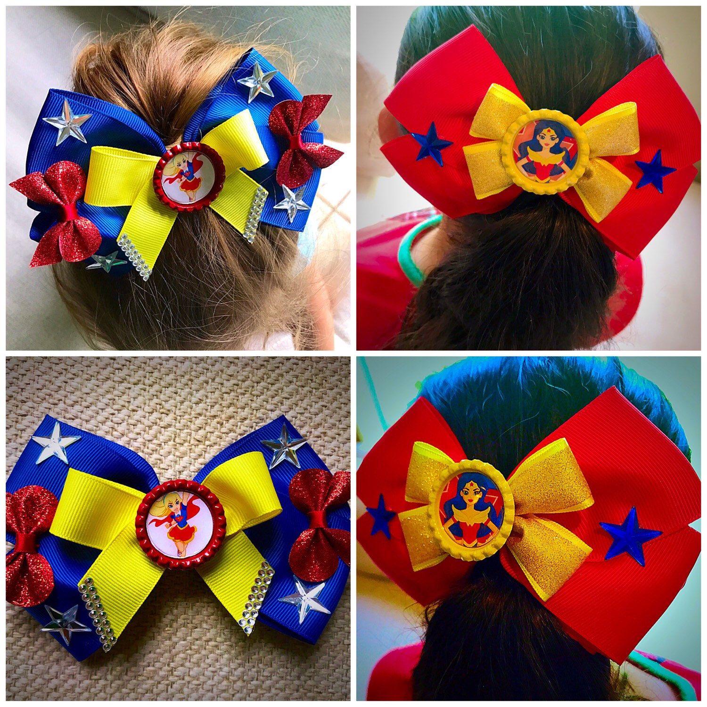 dc superhero girls bows