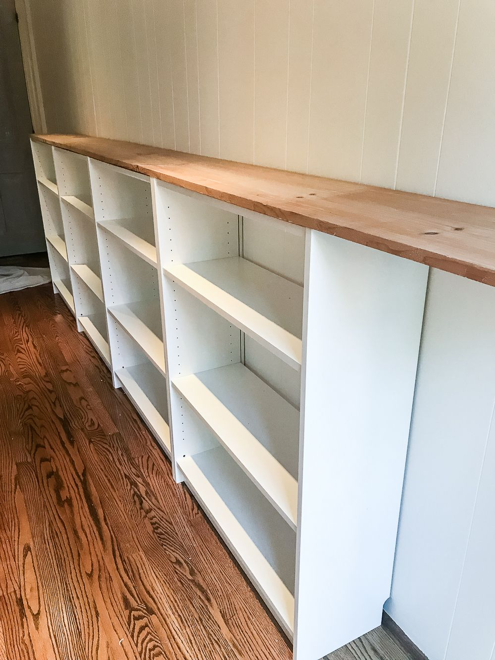 Photo of DIY Playroom Bookcase Built-Ins – Bless'er House