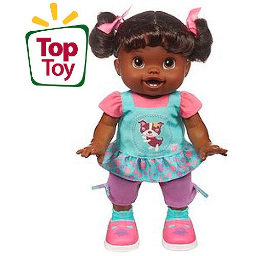 Baby Alive Baby Wanna Walk Doll African American
