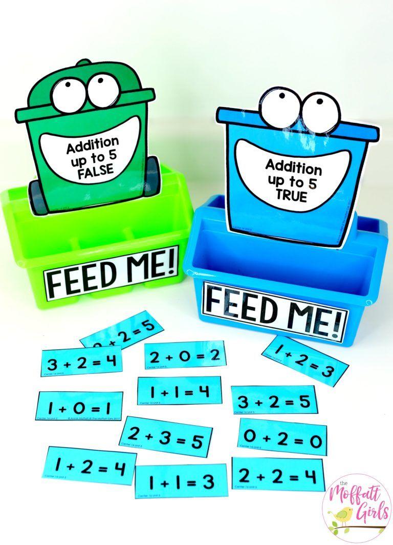 Kindergarten Math: Addition | School ideas | Pinterest | Build math ...