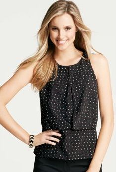4c70c61c92d Women s Business Casual Sleeveless Blouse I would never think to buy this  but I really like how it looks