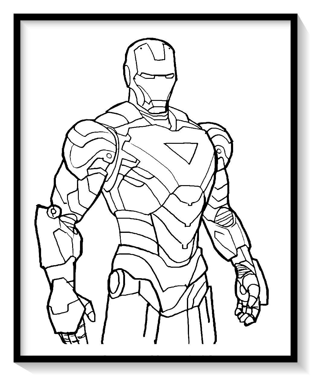 Dibujos De Iron Man Para Colorear En Linea Colorear E Imprimir Ironman Ironman Para Pintar Iron Man Para Colorear Arte De Ironman Ironman Dibujo