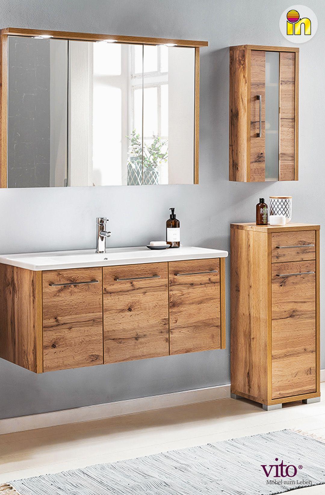 Waschplatz Set In 2020 Waschtisch Spiegelschrank Wasche