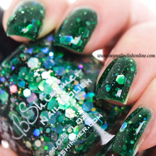 KB Shimmer - Green Hex and Glam | Manicuras, Esmalte y Maquillaje