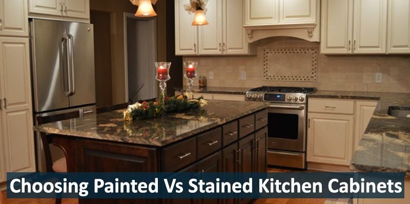 Choosing #Painted Vs #Stained #Kitchen #Cabinets in ...