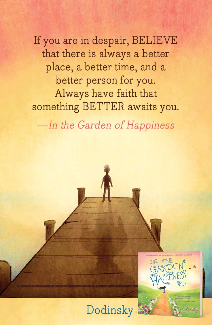 "In the Garden of Happiness by Dodinsky 12.99 ""If you"