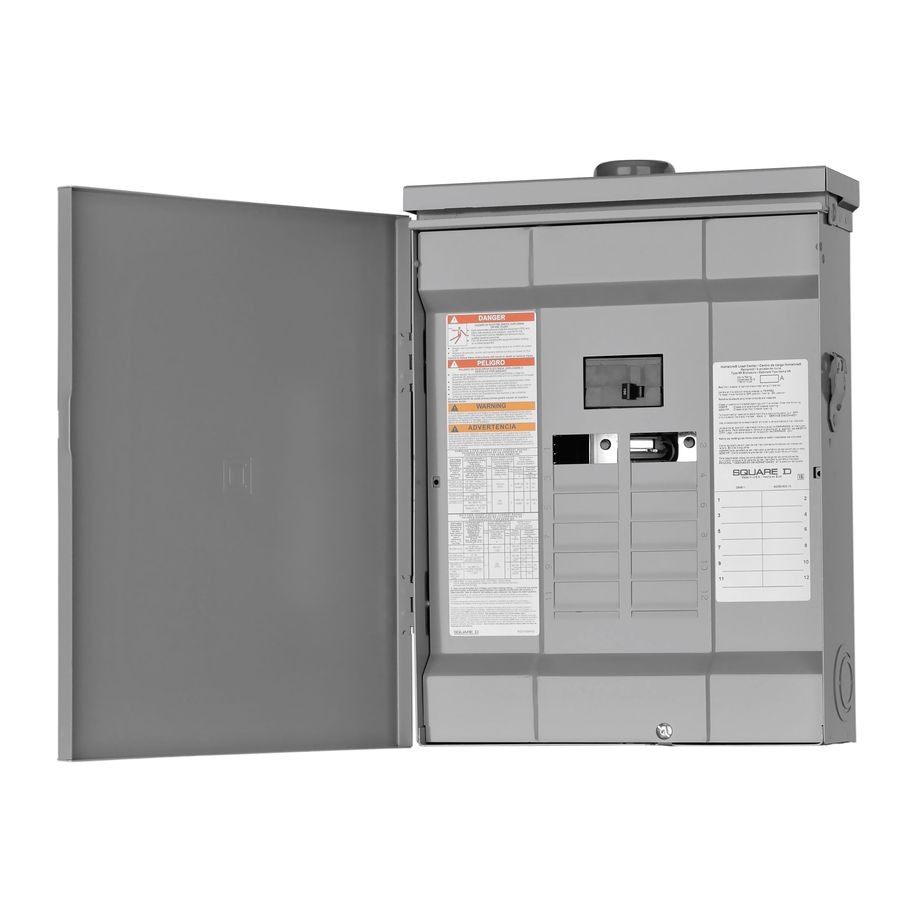 Siemens 12 Space Circuit 100 Amp 24 Outdoor Load Center Main Breaker