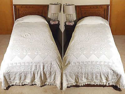 Pin By Nakita Shelley On Bedding Chenille Bedspread Bed