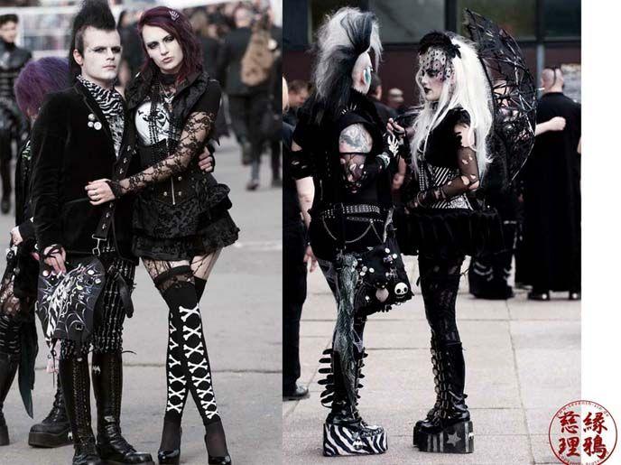 Pin On Goth Fashion
