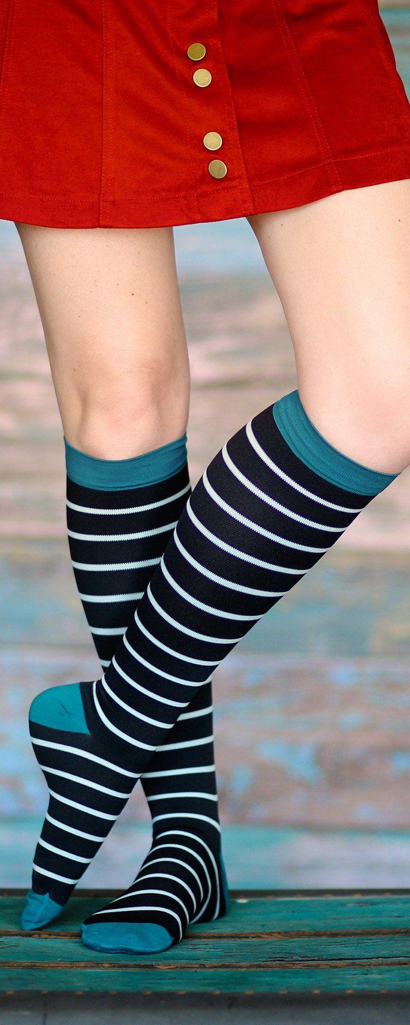 Patterned Compression Socks Custom Inspiration