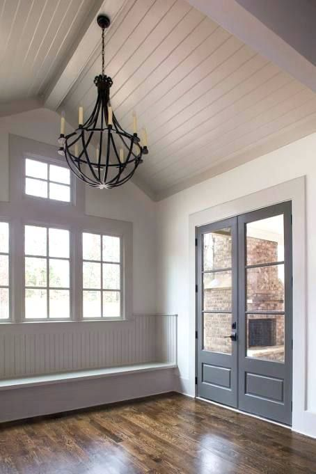 beadboard vaulted ceiling pictures photo 9 of gray vaulted ceiling over mudroom bench good vaulted ceiling 9 home design stores online #vaultedceilingdecor